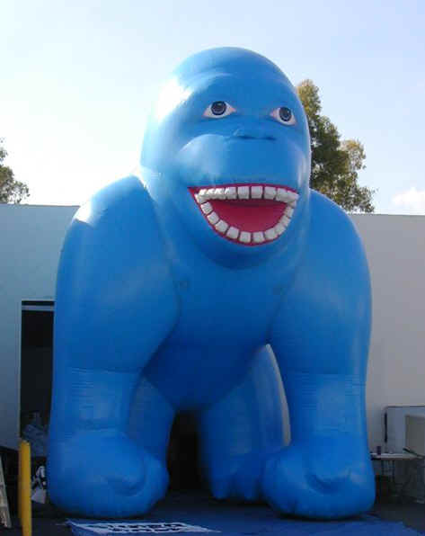 Blue gorilla - photo#6