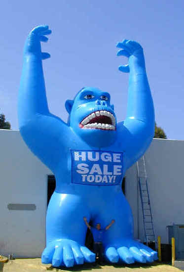 Blue gorilla - photo#11